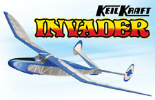"KEIL KRAFT INVADER BALSA WOOD MODEL AIRCRAFT KIT 24.5"" WINGSPAN GLIDER KK1020"