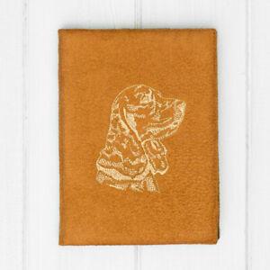 Custom Dog Embroidery Design Cover Case Book for Kobo Nia Aura Clara HD H2O Glo