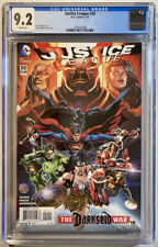 Justice League #50 (DC 2016).  CGC 9.2.  1st Jessica Cruz Green Lantern 3 Jokers