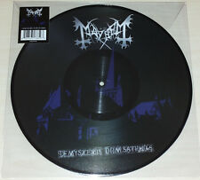 LP MAYHEM - DE MYSTERIIS DOM SATHANAS - PICTURE DISC - NUOVO NEW