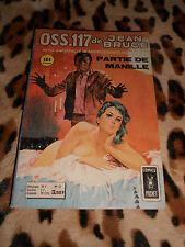 OSS 117 n° 42 : Partie de manille - Aredit, 1974