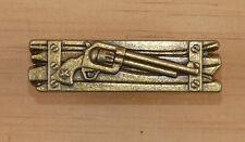 Western Lodge Cabin Kitchen Decor Antique Brass Pistol Drawer Pull