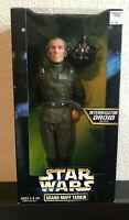 "Star Wars Grand Moff Tarkin 12"" Figurine Collectible & Interrogator Droid NIB"