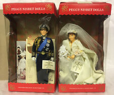Peggy Nisbet Prince Charles Lady Diana Spencer Dolls