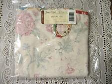 NEW Longaberger Heirloom Floral Large Fruit/Apple/Hostess Sewing Basket Liner