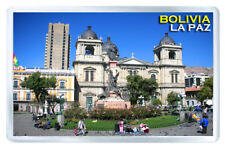 BOLIVIA LA PAZ MOD3 FRIDGE MAGNET SOUVENIR IMAN NEVERA