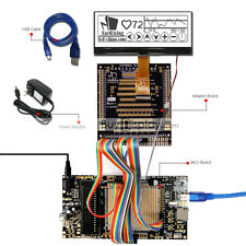 8051 Microcontroller Development Board Kit Usb Programmer For 240x64 Graphic Lcd