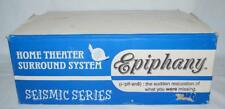 Epiphany Seismic Series Home Theater Surround System New ~98