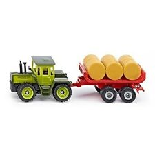 BRAND NEW - SIKU - 1670 - MB-TRAC WITH BALE TRAILER - GREAT GIFT IDEA
