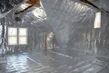 500 sqft Radiant Barrier Solar Attic Foil Reflective NASA Insulation 4x125