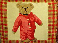 Teddy Bear Tapestry Woven Home Fabric K-TAP-404-M