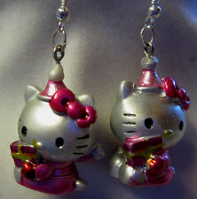 Unique HELLO KITTY 925 Earrings Christmas VALENTINES DAY BIRTHDAY EASTER Nora's