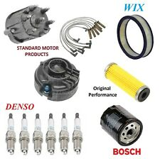 Tune Up Kit Filters Cap Wire Spark Plugs For PONTIAC FIREBIRD V6 2.8L 1982-1984