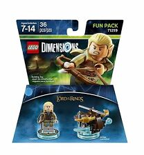LEGO DIMENSIONS The Movie Fun Pack Legolas Lord of Rings Arrow 71219 (36pcs) NIB