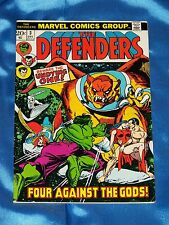 DEFENDERS # 3, Dec. 1972, By Englehart & Buscema, FINE-VERY FINE Condition