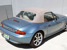 96-02 BMW Z3 Convertible Top OEM BeigeTwillfast Cloth, W/Cables, Rain Guards