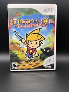Drawn to Life: The Next Chapter (Nintendo Wii, 2009) Complete And Tested