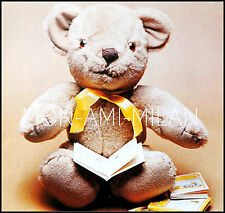 """Vintage sewing pattern Cute Teddy Bear 17"""" Peluche Soft Toy avec mobiliers membres"""