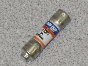 10 (1 BOX) FERRAZ SHAWMUT AMP-TRAP ATQR3 3.0A 600VAC TIME DELAY CARTRIDGE FUSE