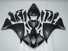 Plastic Black Set Injection Fairing Fit for Yamaha 2009-2011 YZF-R1 Bodywork w10