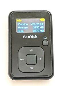 SanDisk Sansa Clip+ 4GB MP3 Player microSD slot No FM Europe Version V01.02.15E