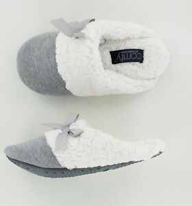 New Comfy by Daniel Green Lena Scuff Slipper - Gray - Size Small 5/6