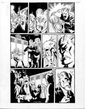 Brian Hurtt THE DAMNED #2 Page 3 Original Published  Art