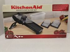 KitchenAid Mandoline Slicer Set Black New Open Box (A12)