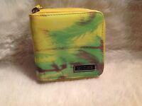 Women's Miche zip around multi color bifold wallet