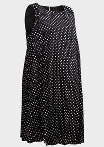 NEW Maternity Dress Black Polka Dot Pregnant Women Baby by Rock a Bye Rosie UK