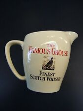 THE  WADE FAMOUS GROUSE FINEST  SCOTCH WHISKY WATER JUG ENGLAND GIFT VINTAGE