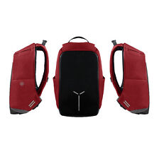 Hickies Urban Elite Anti-Theft Business Travel Notebook Tablet Backpack - Red