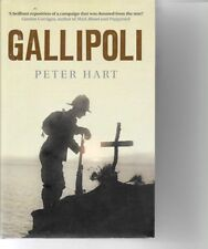 Gallipoli  - Britain, ANSAC, also Turkey and France's view - P.Hart -WWI - H/C