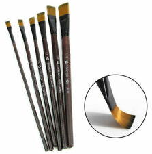 6pcs/set Nylon Acrylic Oil Paint Brushes for Art Artist Supplies Watercolor