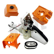 NEW REAR HANDLE ASSY SHROUD TOP AIR FILTER WT COVER BASE FOR STIHL MS440 044
