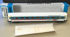 MÄRKLIN HO # 4220 IC-ABTEILWAGEN  DB - GRAU/TÜRKIS 1. Klasse EXZ OKT 1987