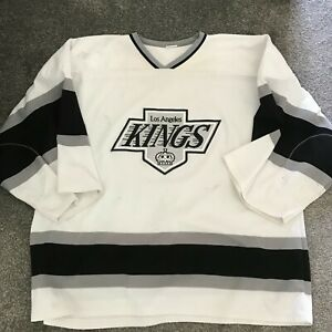 LOS ANGELES KINGS NHL ICE HOCKEY JERSEY USED SIZE 4XL R20