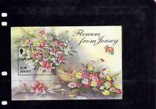 Elizabeth II (1952-Now) Flowers Jersey Regional Stamp Issues