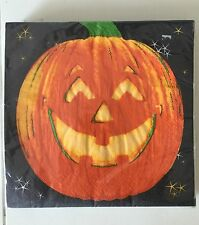 Trend Setters Halloween Pumpkins Paper Luncheon Cocktail Napkins 20