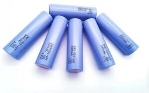 6 Samsung INR21700-40T 4000mAh Rechargeable Battery
