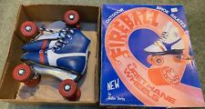 1970's Childs size 12 Vintage Fireball Roller Derby Shoe Skates Urethane Wheels!
