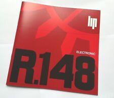 Manuel d'entretien LIP R.148 R.184 Electronic Montre LIP NAUTIC SKI 1969