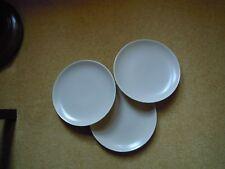 3 X POOLE TWINTONE SEPIA/MUSHROOM DINNER PLATES NEW&UNUSED BRAND NEW 1st Q