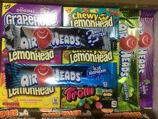 Lemonhead/Air Heads/Cow Tales/Trolli 11 Items American Sweets Gift Box - M01