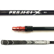 Project X Black 6.0 Driver Shaft Stiff Flex W/TaylorMade Adapter R11s R9/R11/RBZ