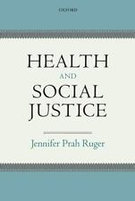 Health and Social Justice, Ruger, Jennifer Prah, Acceptable Book
