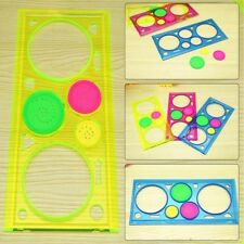 1pc Baby Boys Girls Spirograph Sketchpad Drawing Board Ruler Educational Toys