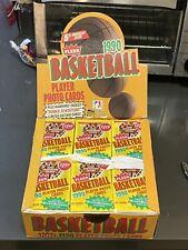 (1) 1990-91 Fleer Basketball Cello Jumbo Pack from sealed box 43 Cards - JORDAN?