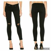AG Adriano Goldschmied THE LEGGING ANKLE Skinny Jeans In 1 Year Black Pond 28