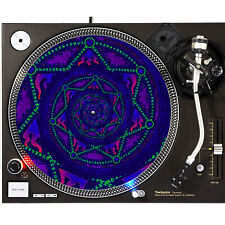 Portable Products Dj Turntable Slipmat 12 inch - Hexa Mega